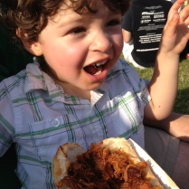 Elijah loves barbecue.